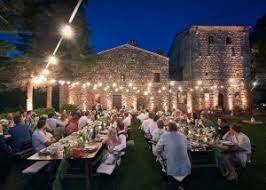 tuscany lighting. String Lights In Rustic Tuscan Castle Tuscany Lighting