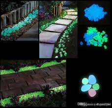 2019 newest decorative gravel for your fantastic garden or yard glow in the dark pebbles stones for walkway blue from shuxiaojun 0 07 dhgate com