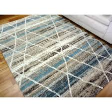 soft thick modern design floor area rugs sight moroccan grey blue coloured