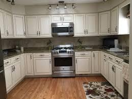 Dove White Kitchen Cabinets White Dove With Caramel Glaze Kitchen Cabinet Cabinet Refacing