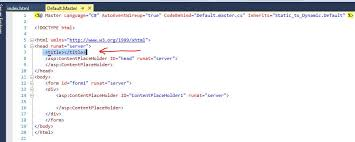Convert Static Pages into Dynamic Pages using asp.net web form ...