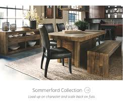 Furniture wood design Sofa Sommerford Collection Everblock Collections By Ashley Homestore Ashley Furniture Homestore