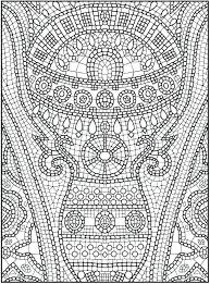 Islamic Art Coloring Pages Art Coloring Pages Printable Mosaic