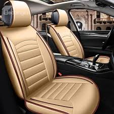 36 black background block bright color durable universal leather car seat cover