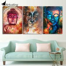 Cheap Contemporary Wall Art Popular Buddha Wall Art Buy Cheap Buddha Wall Art Lots From China