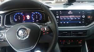 2018 volkswagen sedan. simple sedan vw virtus dashboard driver side spy shot brazil in 2018 volkswagen sedan