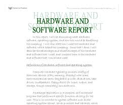 computer hardware software essay computer hardware software
