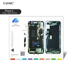 Uanme Professional Magnetic Screw Mat For Iphone 4 5 6 6s 7