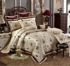 europe palace home textile bedding sets luxury 4 6pcs jacquard silk cotton duvet cover set bed