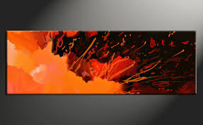 Canvas abstract artwork Oil Piece Canvas Art Home Decor Artwork Abstract Photo Canvas Abstract Canvas Photography Dhgate Piece Panoramic Orange Abstract Large Canvas