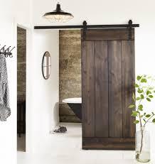 rustic interior barn doors. View In Gallery Bathroom Barn Door Rustic Interior Doors G