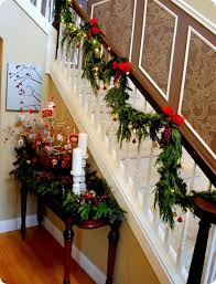 Garland For Stair Banister 25 Unique Christmas Stair Garland Ideas On  Pinterest Christmas