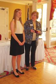 dar honors award winners the wilson times anne snead dar district director presents the district viii good citizen essay award to
