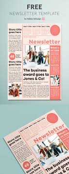 036 Newsletter Template Ideas One Shocking Page Word