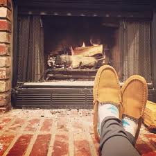 unique design gas starter fireplace wood