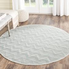 circular outdoor rugs stylish safavieh courtyard chevron light grey aqua indoor outdoor rug 5 3