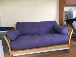 Blue Double Futon Sofa Bed \u2014 Home Design StylingHome Design Styling