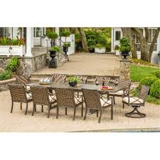 tremendeous 9 piece patio dining set in davenport collection outdoor rc willey piece patio dining set90