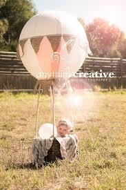 hot air balloon photography prop hot air balloon first
