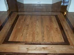 hardwood floor border design ideas