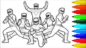 Mighty Morphin Power Rangers Coloring Pages Colouring Pages For Kids