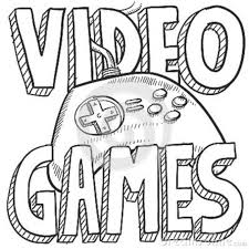 Small Picture Video Games Coloring Pages allegiancewarscom allegiancewarscom