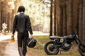 black arrow jacket bike s pay lip service to women fashion