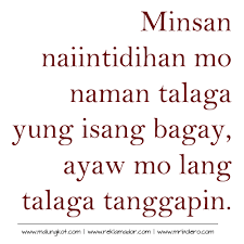 Tagalog Quotes Inspiration Top 48 Best Patama Tagalog Quotes And Sayings Papogi