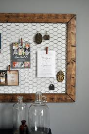 Homemade Memo Board Awesome Office Memo Board DIY For The Home Pinterest Diy Memo Board