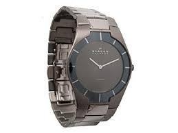 skagen 585xltmxm titanium grey mens watch skagen 585xltmxm titanium grey men s watch