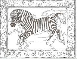Small Picture Good Zebra Coloring Pages 53 About Remodel Free Coloring Kids with