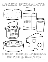 Printable Healthy Eating Chart Coloring Pages Coloring Pages
