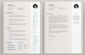Free Cool Resume Templates New 40 Free Beautiful Resume Templates To Download Hongkiat