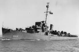 H-030-1 USS England (DE-635)