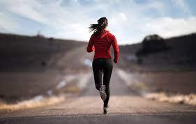 Wallpaper road, sport, Girl, running ...