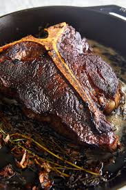 porterhouse steak.  Steak ButterBasted Porterhouse Steak Recipe  Ifoodbloggercom Intended