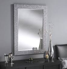 silver framed bathroom mirrors. Exellent Mirrors Bathroom Mirrors  Mirror Silver Framed For O