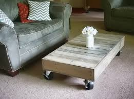 DIY Pallet Coffee Table With Glass TopPallet Coffee Table Diy