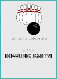 Bowling Invitation Mesmerizing Bowling Birthday Party FREE Invitation Party Printables Jolly Mom