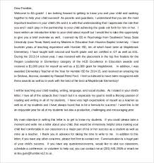 letter from teacher to parents parent letter template 10 free word pdf documents download