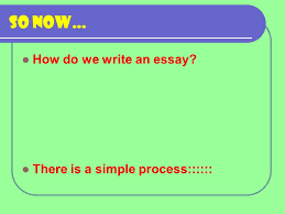 the analytical response essay a strategy for success ppt  5 so now