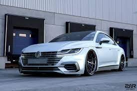 New Volkswagen Arteon Gets Its First Tuning Job Sort Of Carscoops Volkswagen Cc Volkswagen Volkswagen Passat