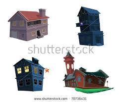 different types of houses different types houses stock illustration 70736431 shutterstock