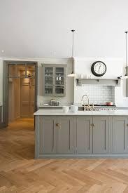 deVOL Shaker Kitchens - Design Chic - love the brass kitchen faucet