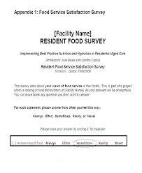 Free Apartment Market Survey Template