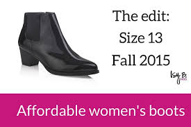 size 13 women the fall 2015 edit affordable womens boots in size 13