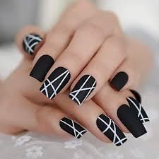 Una de las técnicas es el contraste en este diseño se unan bases negras para destacar el color rosa en el diseño de uñas. Decoraciones De Unas Acrilicas Cortas Tipos Y Imagenes Unas 2021