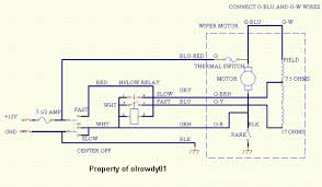 lucas wiper motor wiring diagram wiring diagram and schematic design wiring diagram 1978chevywiperdia thumbnail wiper motor restoration of nnf 10h