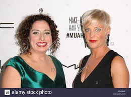 make up artists and hair stylists guild awards at paramount theatre at paramount studios arrivals featuring kerstin weller kylie clarke where los