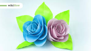 How To Make A Flower Paper 3 Ways To Make Paper Flowers Wikihow